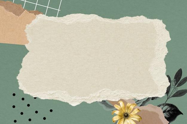Papel de parede de colagem vintage papel de parede de fundo de quadro, arte de mídia mista