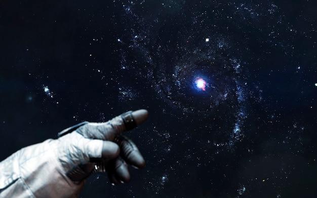 Papel de parede de ficção científica de supernova, nascimento de estrela, galáxia no espaço profundo. elementos desta imagem fornecidos pela nasa