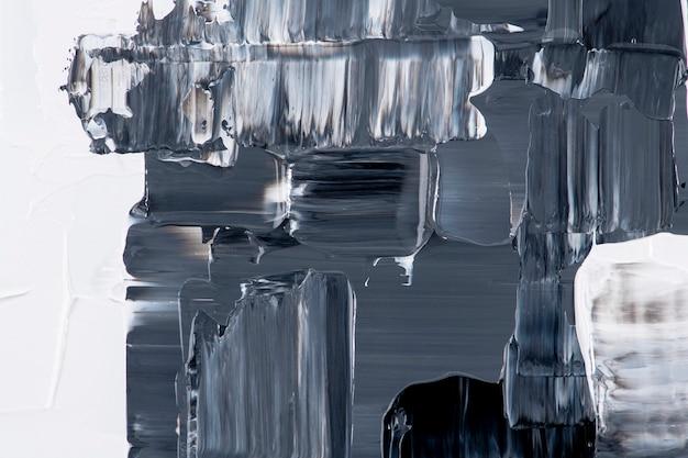 Papel de parede de fundo abstrato, textura de tinta acrílica preta