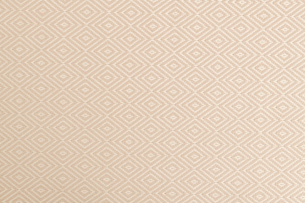 Papel de parede de fundo com textura de tecido, tom bege natural