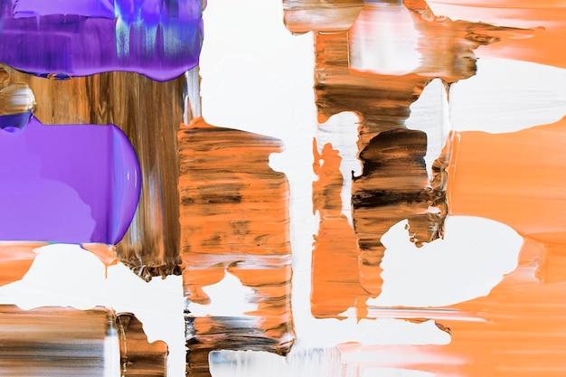 Papel de parede de fundo com textura de tinta, arte abstrata em tinta acrílica