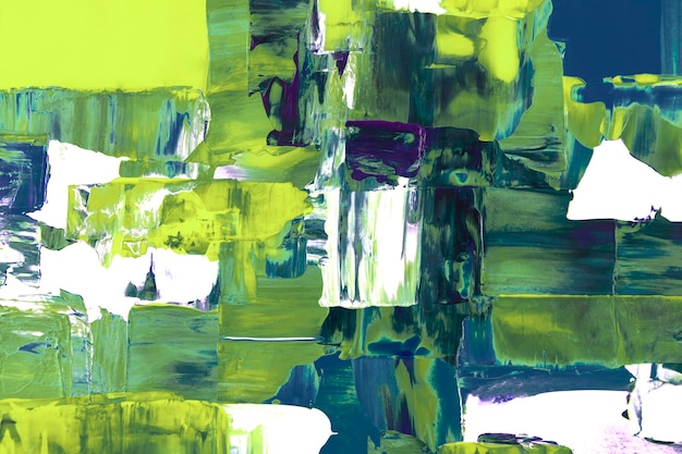 Papel de parede de fundo de néon, pintura abstrata texturizada com cores misturadas