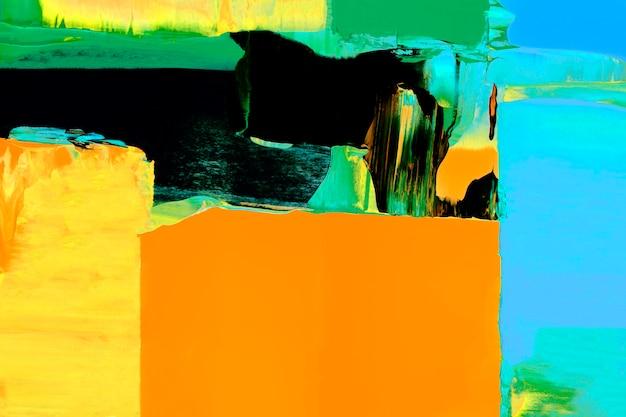 Papel de parede de fundo de pintura de textura, arte abstrata com cores misturadas