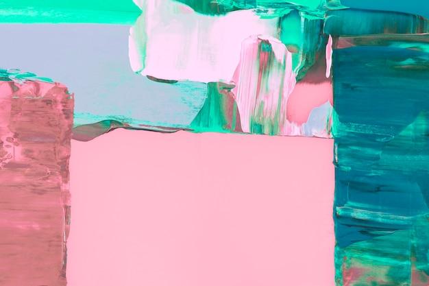 Papel de parede de fundo rosa, textura de tinta abstrata com cores misturadas