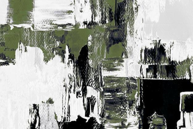 Papel de parede de fundo verde abstrato, textura de tinta mista