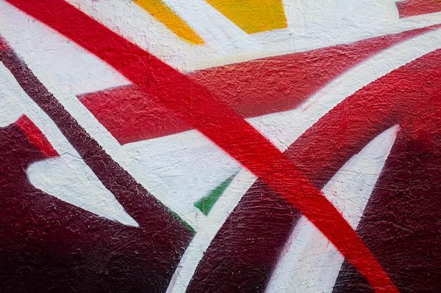 Papel de parede de graffiti mural criativo