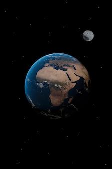 Papel de parede de planeta da áfrica
