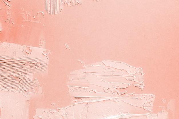Papel de parede de textura de pincelada de pêssego