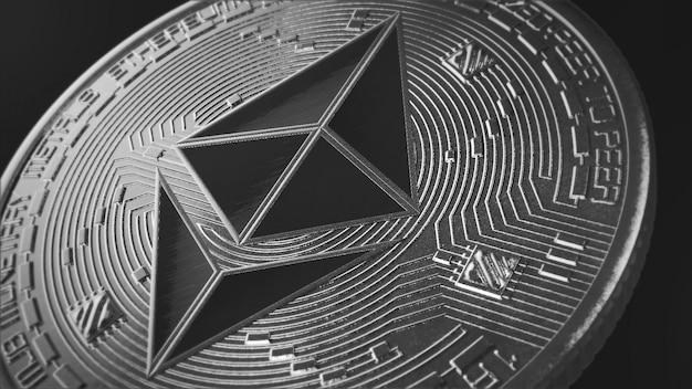 Papel de parede moeda ethereum