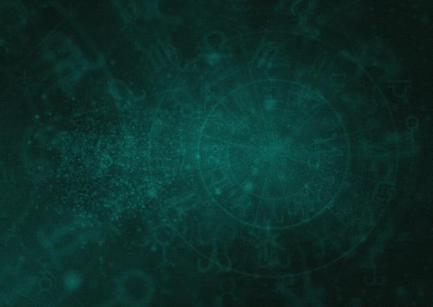 Papel de parede padrão de horóscopo astólogo