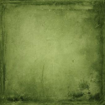 Papel em branco verde antigo abstrato