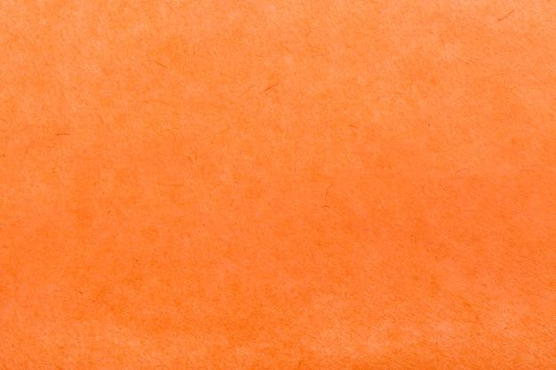 Papel laranja denso de textura