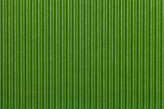 Papel ondulado verde