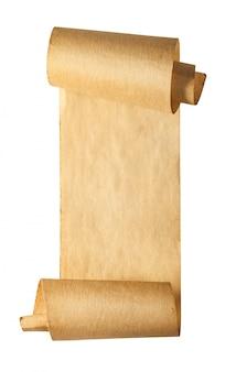 Papel pergaminho antigo