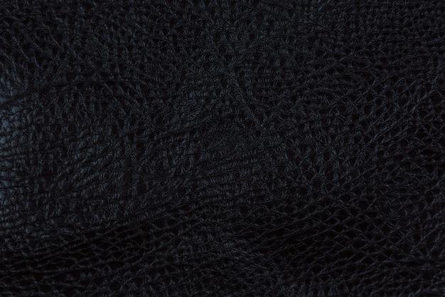 Papel preto ou textura de couro