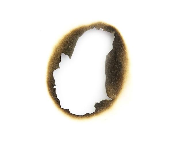 Papel queimado