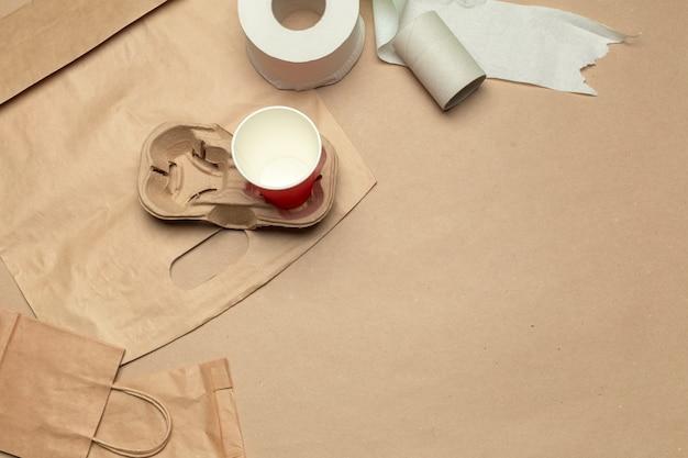 Papel reciclado para artesanato