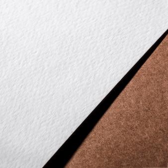 Papel texturizado close-up