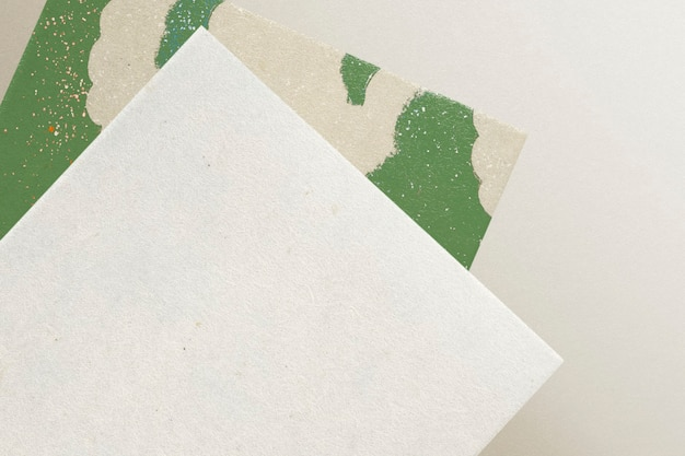 Papel timbrado em branco para design de identidade corporativa