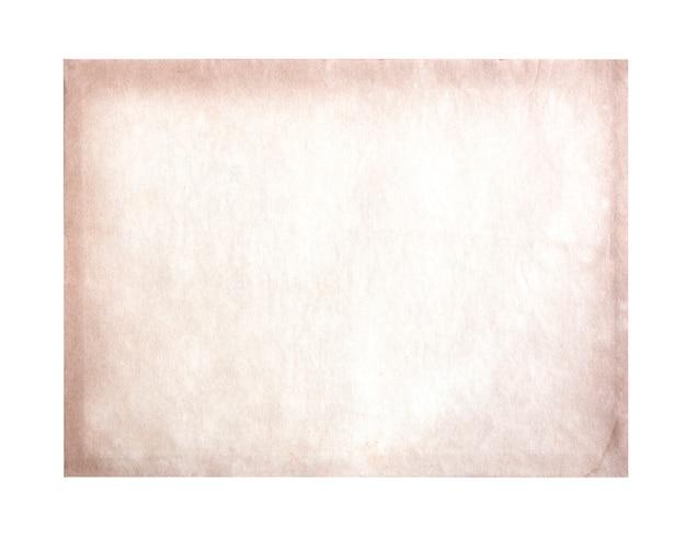 Papel velho, isolado no fundo branco