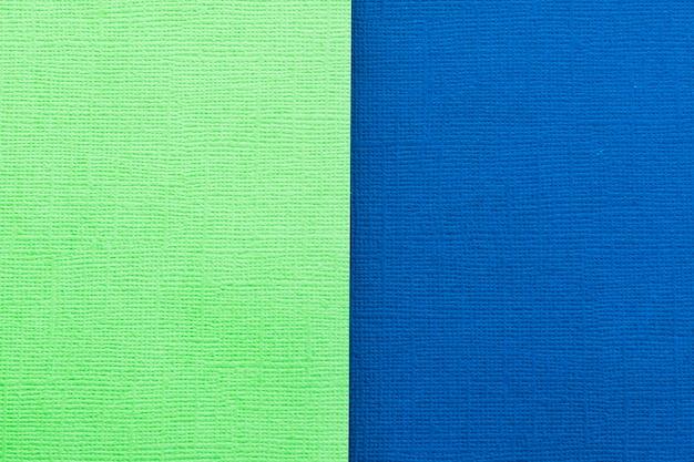 Papel verde e azul escuro para o fundo