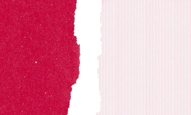 Papelão com fundo de textura de rasgos de papel