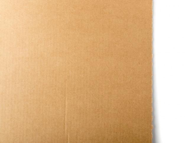 Papelão marrom, placa de papel ou fundo da caixa