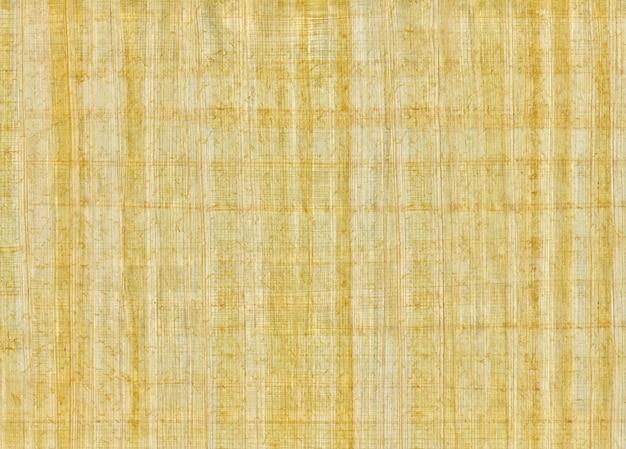 Papiro em branco tradicional egípcio