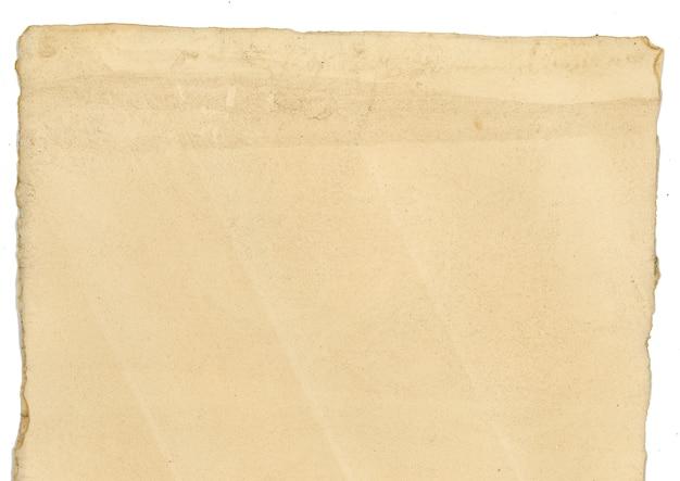 Papiro em sépia velha