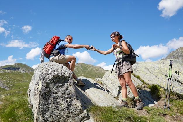 Par, de, hikers