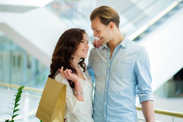 Par, fazendo compras