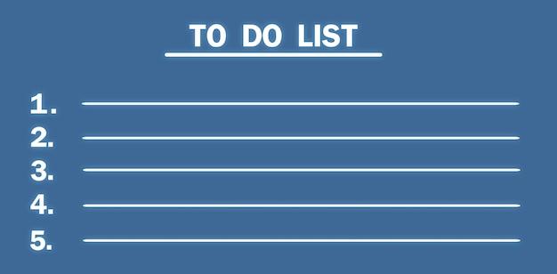 Para fazer a lista em fundo azul.