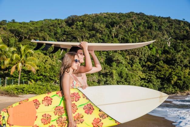 Paraíso dos surfistas