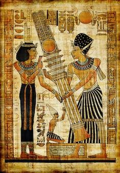 Parchemnt egípcio tradicional