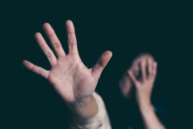 Pare a violência contra as mulheres, o dia internacional das mulheres