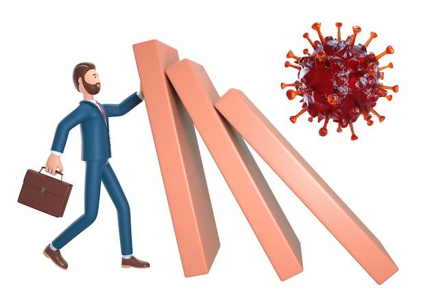 Pare o efeito de risco de dominó.