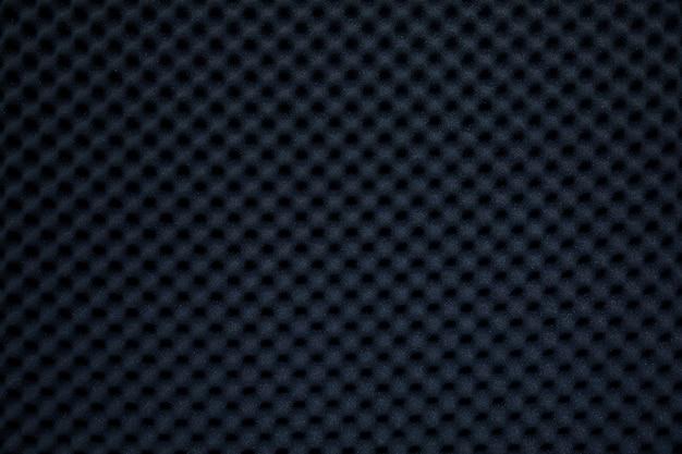 Parede à prova de som no estúdio de som, fundo de esponja absorvente de som