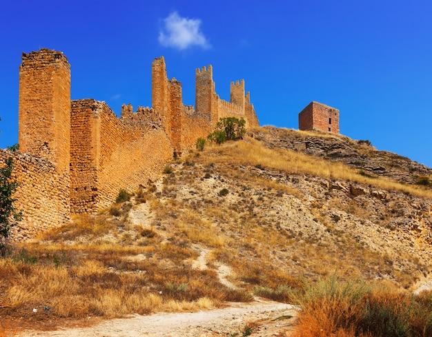 Parede antiga da fortaleza