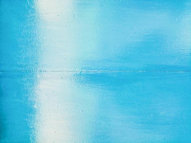 Parede azul do antigo fundo de textura de tábua de madeira