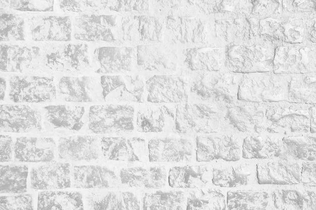 Parede branca de tijolo