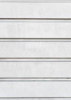 Parede de aço branca abstrata
