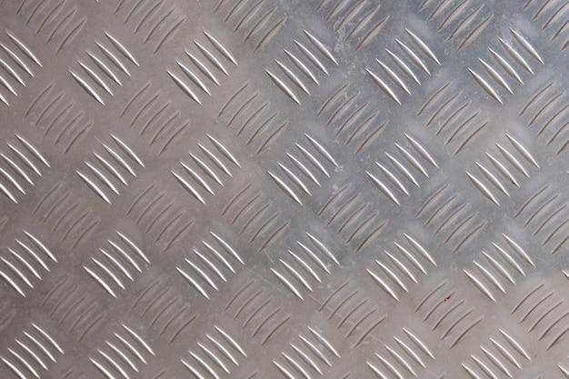 Parede de alumínio cinza