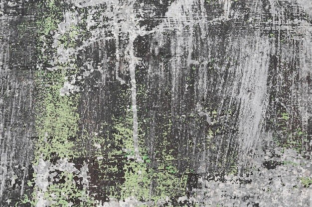 Parede de ardósia espacial manchada de cinza e verde