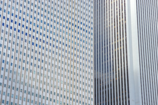 Parede de arranha-céus de chicago como pano de fundo