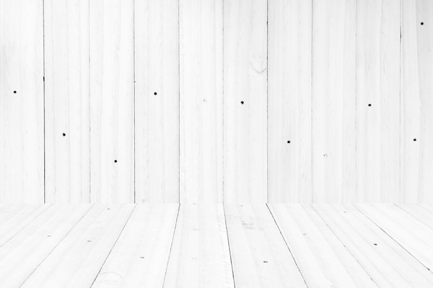 Parede de assoalho de madeira da textura da prancha vazia.