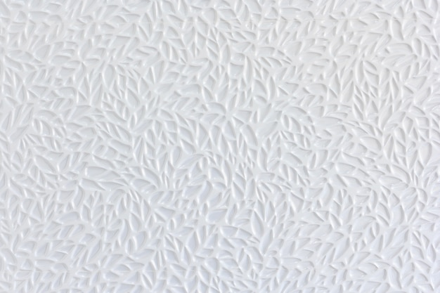 Parede de azulejo de tijolo cerâmico branco e fundo