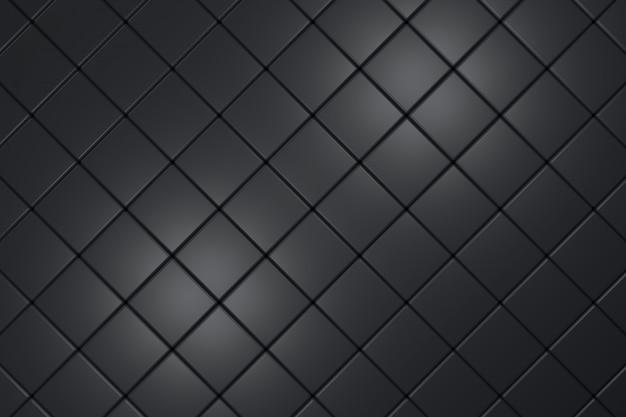 Parede de azulejo moderno. renderização em 3d.