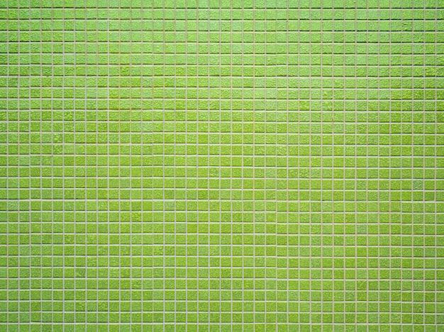 Parede de azulejos de cerâmica quadrada azul