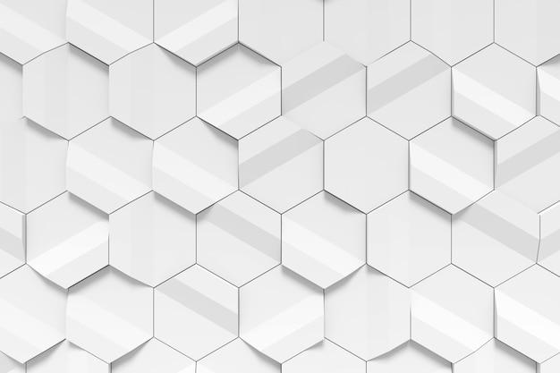 Parede de azulejos moderna. renderização 3d.