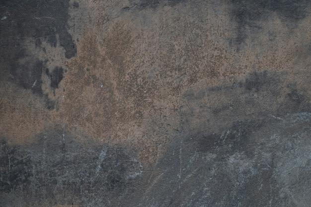Parede de cimento de concreto velho cinza escuro